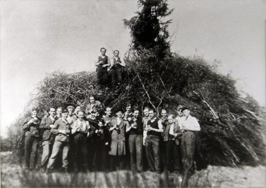 Poschegesellschaft 1948 Quelle: Stadtarchiv Olpe